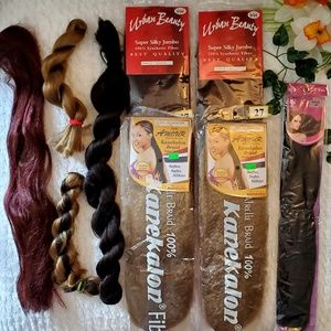Other - •Synthetic Hair (Lot of 9)•